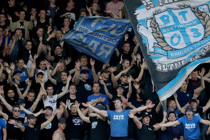 Supporters van De Graafschap.