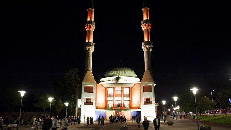 Turkse Moskee in Rotterdam. Beeld ANP