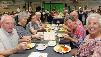 500 senioren mogen aanschuiven aan feestdis