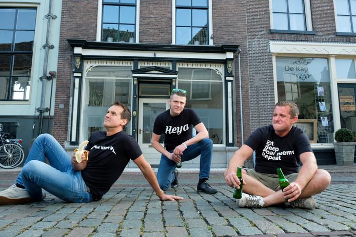 De jongens van Poar Neem'n zijn ook weer aanwezig in Oldebroek.