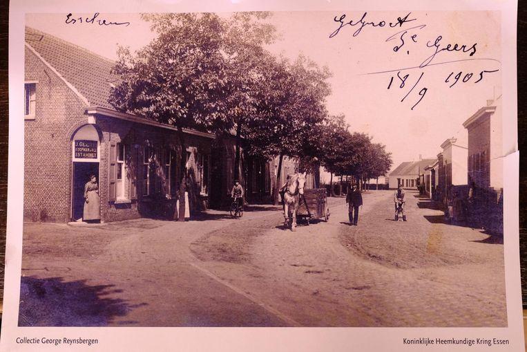 De winkel begin 20ste eeuw