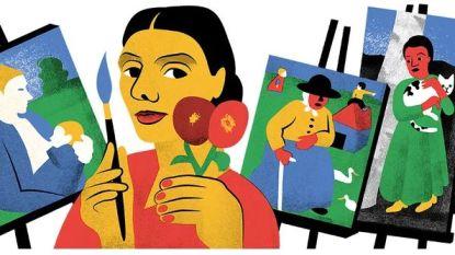 Google eert relatief onbekende schilderes, en dit is waarom