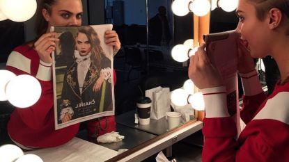 b01feb91c2eae3 Cara Delevingne teaset Chanel-campagne