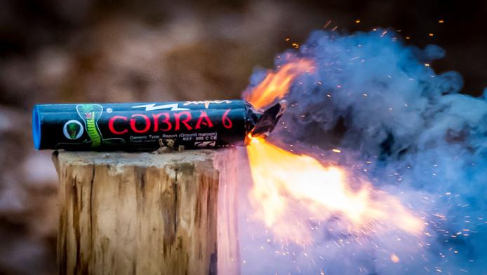 De Cobra 6 is verkrijgbaar in veel Europese landen, maar verboden in Nederland.