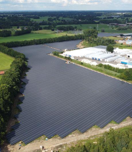 Goede doelen profiteren van  zonnepark aan rand van Goor