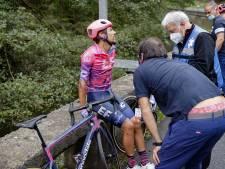 Dauphiné-winnaar Martínez stapt gehavend af