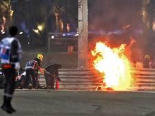 Extra maatregelen op circuit Bahrein na crash Grosjean