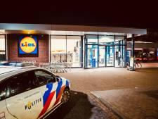 Gewapende overval op supermarkt Lidl in Helmond, dader nog steeds op vrije voeten