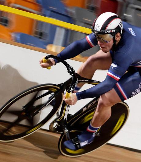 Franse keirinkampioen rijdt Ronde van Orteliusstraat