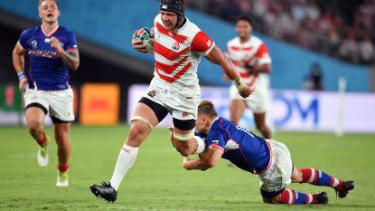 Gastland Japan verslaat Rusland in openingswedstrijd WK rugby