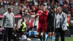 EK-KWALIFICATIE. Ronaldo druipt geblesseerd af bij Portugal, dat wéér niet kan winnen - Mbappé steelt de show met weergaloze assist - Engelsen leggen er vijf in het mandje