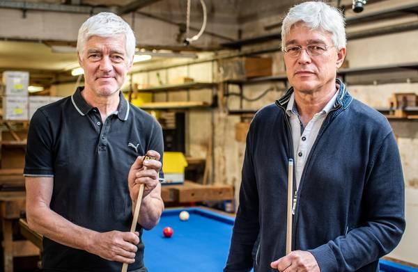 Deze broers geloven dat het tij kan keren voor de biljartsport