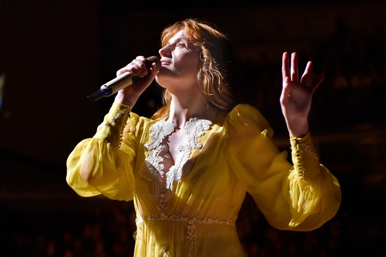 Florence Welch van Florence + The Machine