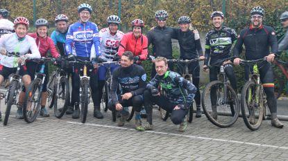 """18e veldtoertocht """"Dwars door Kruishoutem"""" lokte 860 mountainbikers"""