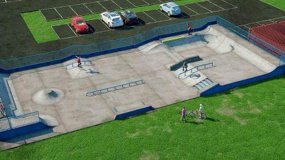 Nieuw skatepark nabij 't Verzet eind juni af