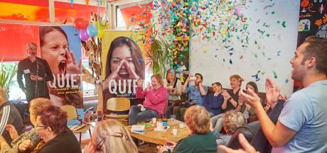 Quiet Oss maakt bij de start lawaai voor stille armoede