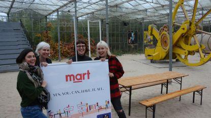 Shoppen, cultuur of leuke workshop? Het kan allemaal tegelijk bij Mart, een nieuw pop-up evenement in de Verbeke Foundation