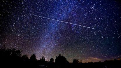 De komende nachten regent het vallende sterren. Met deze tips kan je ze het beste spotten