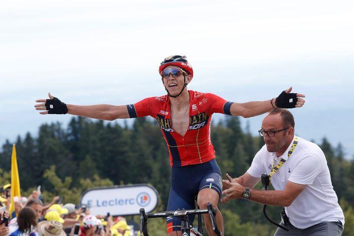 Teuns won vorig jaar op La Planche des Belles Filles.