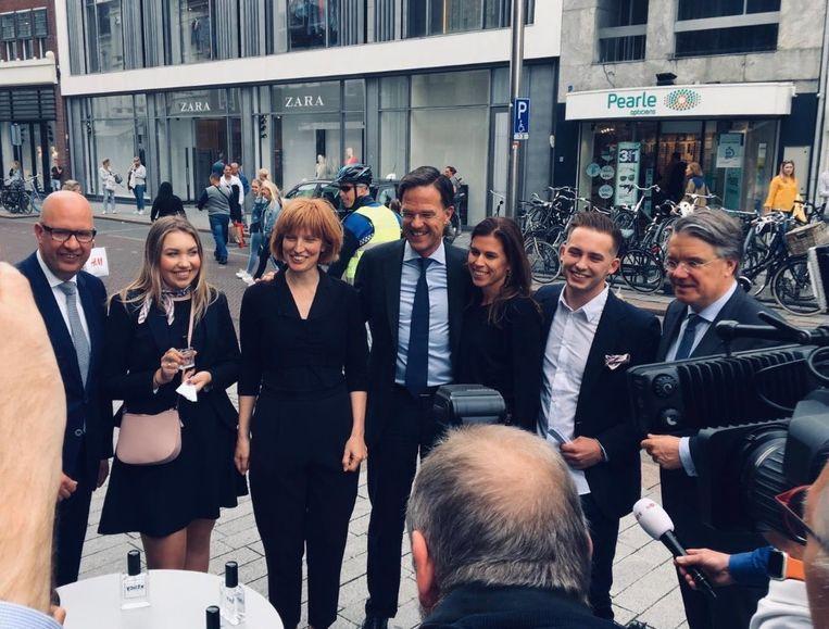 Ook premier Mark Rutte was aanwezig in Den Bosch.