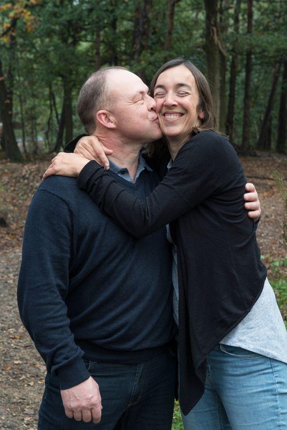 Gerard en Marijke stuurden elkaar na de opnamen nog geregeld berichtjes en spraken uiteindelijk nog eens af in Gent.