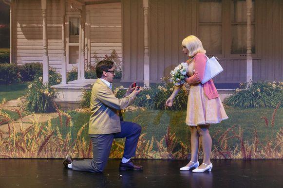 Shana Pieters, alias 'Janet', krijgt een huwelijksaanzoek.