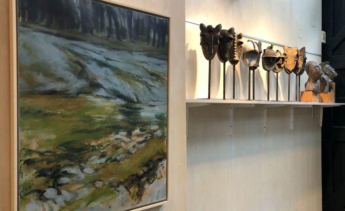 Twee disciplines, een drijfveer; expositie in Atelier Panhof in Koudekerke.
