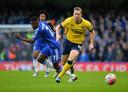 Kevin van Veen speelde in zijn beginperiode bij Scunthorpe United nog in de FA Cup tegen het Chelsea van Guus Hiddink.