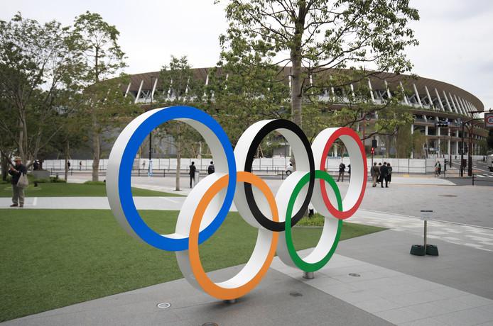 Het Olympisch Stadion van Tokio.