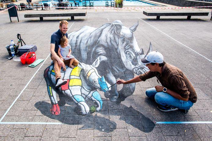 World Street Painting in Arnhem gaat dit jaar niet door. De coronacrisis gooit roet in het eten.