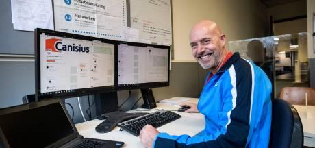 Online gymles op Canisius in Almelo: 'Sommige laten de hond uit'