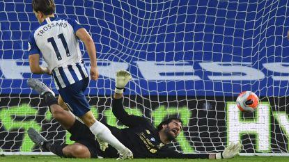 Prachtige volley van Trossard brengt geen punten op tegen soeverein Liverpool
