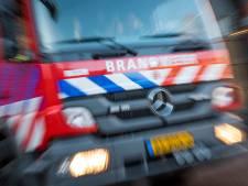 GGD-teststraat Alkmaar ontruimd wegens brand op bedrijventerrein