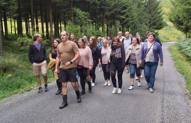 Er hoorde ook een wandeling naar Haute-Monchenoule en de Gigi bij