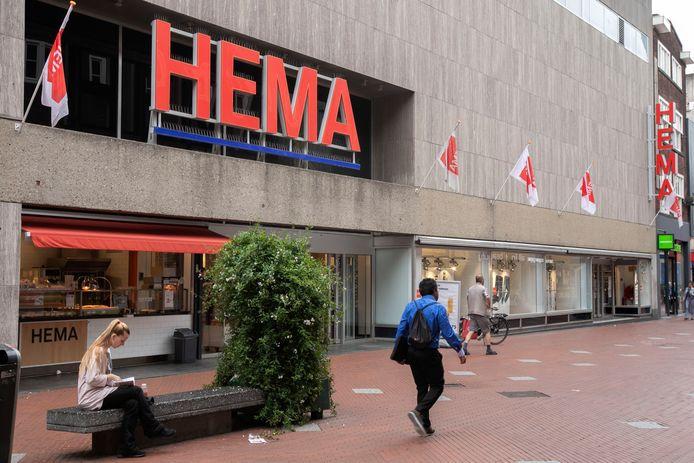 Het Hema-pand aan de Rechtestraat in de Eindhovense binnenstad (archieffoto).