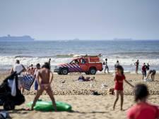 Opnieuw rode vlag, reddingsbrigade haalde zondag 268 mensen uit Haagse zee