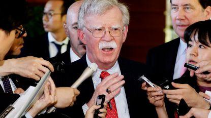 """Noord-Korea en China boos: Amerikaans veiligheidsadviseur Bolton is """"oorlogsmaniak"""""""