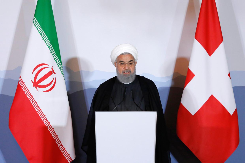 De Iraanse ayatollah Ali Khamenei. Beeld EPA