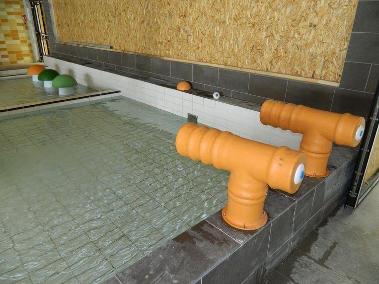 Er komt ook een peuterbad met waterkanonnen.