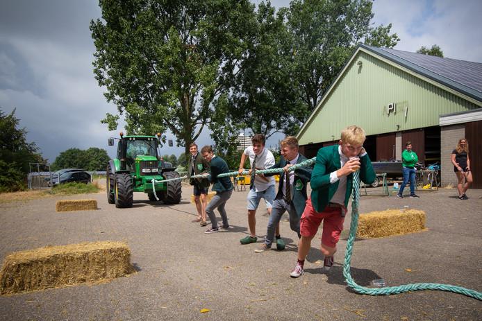 Farmers challenge bij Argo in Wageningen.