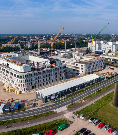Open dag bouwplaats nieuwbouw Amphia