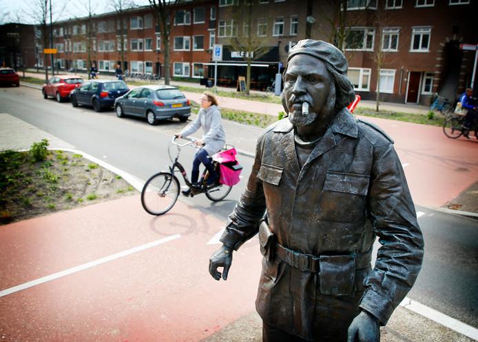 Standbeeld Che Guevara.