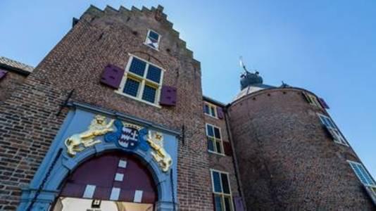 De poortkamer van Kasteel Ammersoyen is voor het eerst open voor publiek.