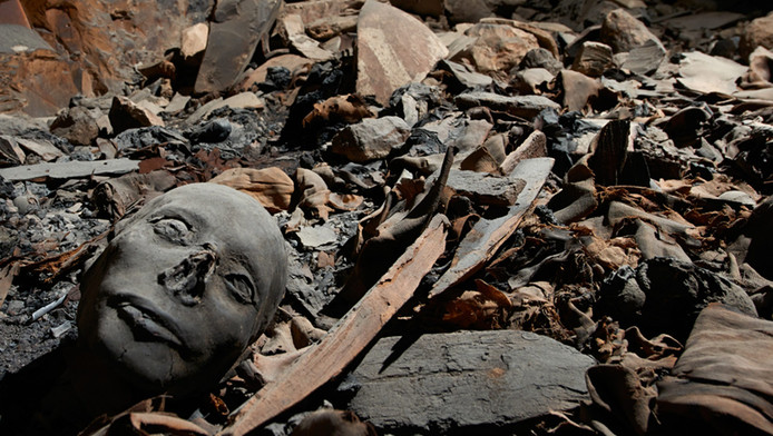 In april vorig jaar werd deze graftombe ontdekt in de beroemde Vallei van de koningen.