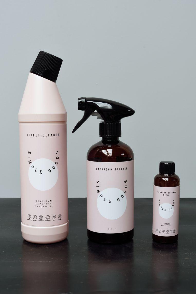 Ecologische badkamer- en toiletreiniger 14 euro per stuk Simple Goods via thesoulstore.be