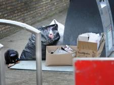 Vlissingse afvalcontainers gaan op slot nu de Middelburgers moeten betalen voor storting