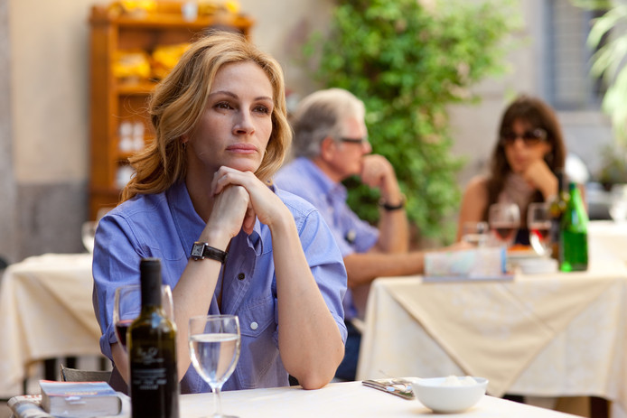 Julia in Eat Pray Love.