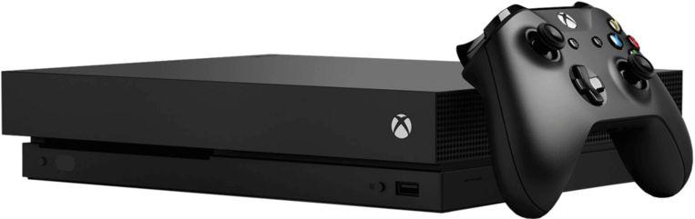 De Xbox One X.