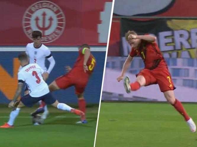 Van de geniale pass van De Bruyne tot Vertonghen die zich Zidane waant: match tegen Engeland zat boordevol technische hoogstandjes