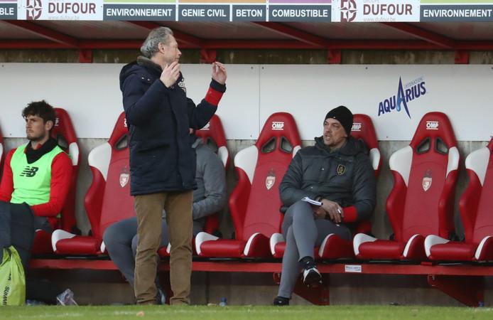 Frustraties, niet alleen bij de spelers maar ook bij Michel Preud'homme.